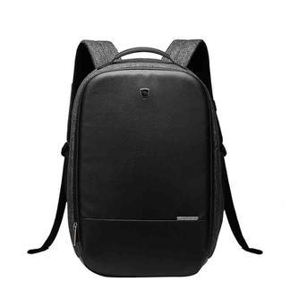 爱华仕(OIWAS) 辑盗者系列 商务防盗背包 男电脑包 女双肩时尚背包可扩展隔层 4338黑色