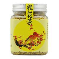 胡庆余堂 桂花茶 30克 方形塑瓶 养生茶