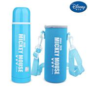 【包邮】迪士尼Disney-字母蓝不锈钢保温杯500毫升男女暖水壶瓶