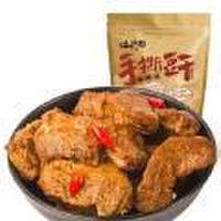 洽洽手撕豆干素肉烧烤香辣味休闲零食恰恰豆腐干小吃260g*3袋  口味随机
