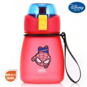 【包邮】迪士尼Disney-蜘蛛侠红布丁直饮杯390毫升卡通孩学童水杯壶便携带提手休闲户外饮水杯壶