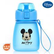 【包邮】迪士尼Disney-米奇蓝布丁直饮杯390毫升卡通孩学童水杯壶便携带提手休闲户外饮水杯壶