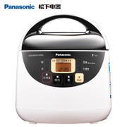 【包邮】松下Panasonic- 微电脑电饭煲1.5L  迷你型电饭锅不沾涂层  白色