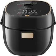 【包邮】松下Panasonic-- 迷你IH电磁加热电饭煲(对应日标0.7L) 家用多功能智能预约  黑色2.1L