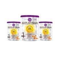 【3罐包邮】A2婴儿奶粉白金系列牛奶粉 1段 900g/罐