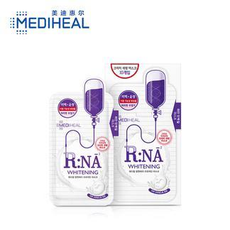 美迪惠尔(MediHeal)RNA舒缓 胶原蛋白 水光 润彩乳液护肤面膜10片