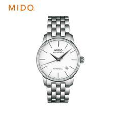 MIDO 瑞士美度贝伦赛丽男表精钢表带休闲潮流机械表 M8600.4.76.1