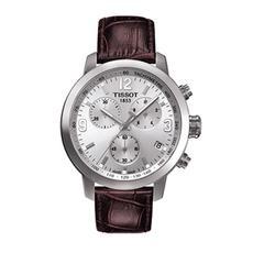 天梭Tissot骏驰200石英表瑞士手表皮带男表T055.417.16.037.00
