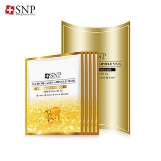 SNP爱神菲黄金胶原蛋白面膜5片装