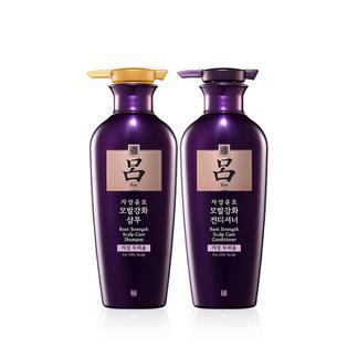 吕滋养韧发密集强韧 (油性头皮)400ml洗发水+400ml护发乳