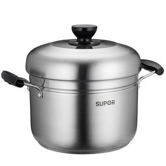 苏泊尔蒸滋味蒸煮多用锅22CM SZ22S1