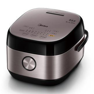 美的4L IH智能加热家用多功能电饭锅24小时预约家用饭煲HS4075