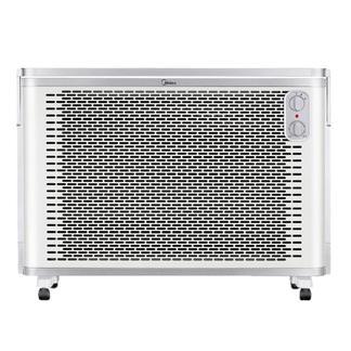 美的(Midea)取暖器NDK20-18F1 居浴两用速热电暖气片电暖风 欧式快热炉防水壁挂式电暖器