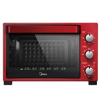 Midea/美的 T3-321C超大容量多功能烘焙家用电烤箱红色