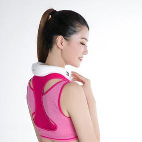 和正 脉冲波颈椎按摩仪(产品材质:ABS+硅胶; 产品尺寸:16*20.5*6cm  )
