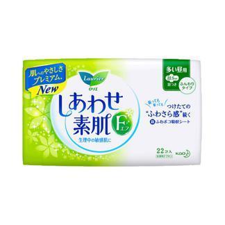 日本花王日用卫生巾(有护翼22片)X3包