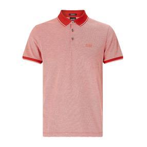 【武商网购全球】Hugo Boss 雨果博斯 男士红色纯棉短袖POLO衬衫 50373013-654